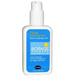 Shikai Products Borage Dry Skin Therapy Facial 24 Hour Repair Cream - 2 fl oz pack of - 1