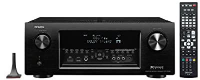 Denon AVR-X4000 7.2-Channel 4K Ultra HD Networking Home Theater AV Receiver with AirPlay from Denon