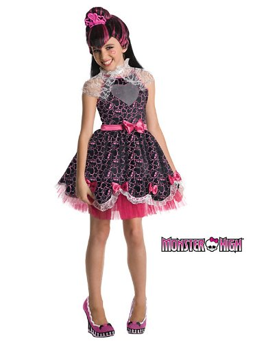 Monster High Sweet 1600 Deluxe Draculaura Costume