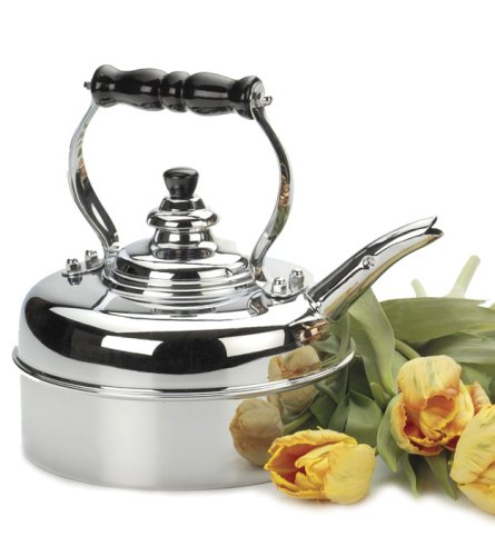 Simplex Heritage 2 Quart Tea Kettle, Chrome Best Deals