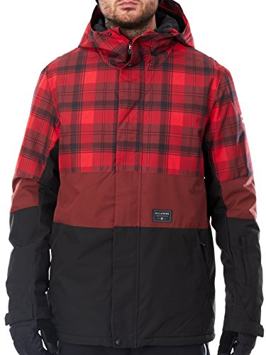 giacca-snowboard-billabong-legacy-block-rosso-plaid-m-rosso