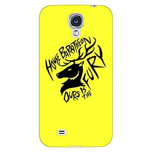 Jugaaduu Game Of Thrones GOT House Baratheon Back Cover Case For Samsung Galaxy S4 I9500