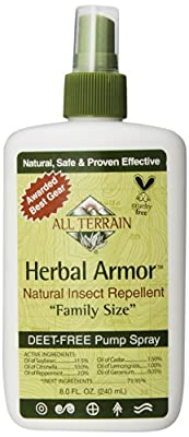 All Terrain Herbal Armor Natural Insect Repellent Family Size - 8 Fl Oz - SPu1119502