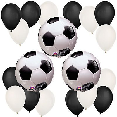 Goaaal! Soccer Birthday Party Balloon Kit (Birthday Supplies Soccer compare prices)