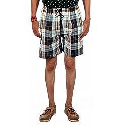 Aaduki Men's Cotton Bermuda Shorts_Multi-Coloured_XXL