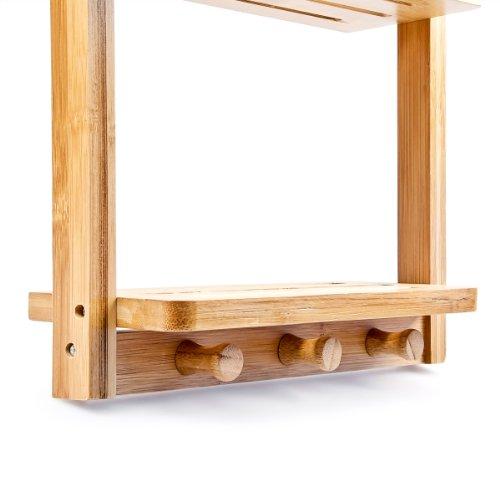 relaxdays duschregal mit 3 ablagen h x b x t ca 70 x. Black Bedroom Furniture Sets. Home Design Ideas