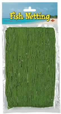 Fish Netting 4 x 12ft - Green - 1