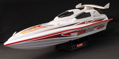28 Inch Blue Streak Marine High Performance Electric EP RC Racing Remote Control Speed Boat