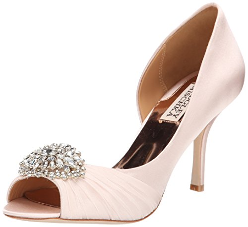 badgley-mischka-pearson-women-us-8-pink-peep-toe-heels