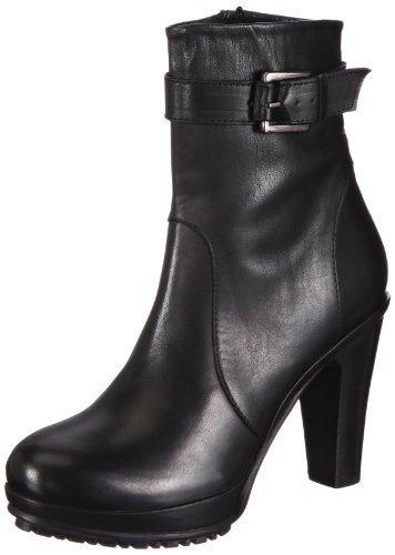Buffalo London 1016-1 N COW Boots Womens Black Schwarz (BLACK 01) Size: 7 (41 EU)