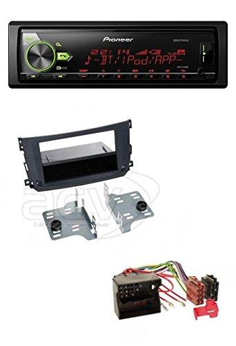 Pioneer-MP3-USB-Bluetooth-Autoradio-fr-Smart-Fortwo-451-092010-122015