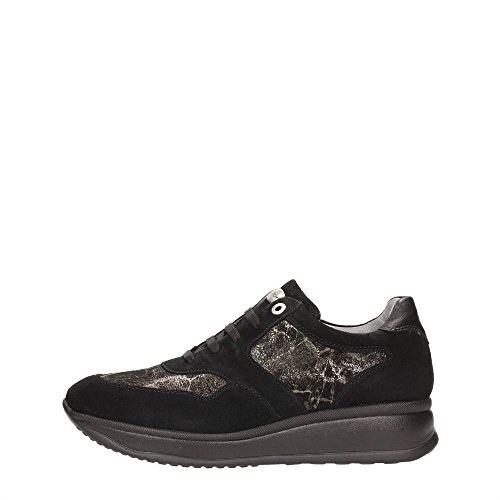 Andrea Morelli LB72310A Sneakers Donna Crosta Nero Nero 38