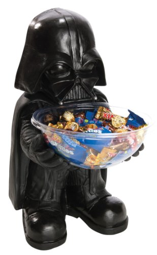 Rubies Star Wars Darth Vader Halloween Candy Bowl Holder