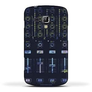 FUNKYLICIOUS Galaxy S Duos 2 S7582 Back Cover Dj Mixer Design (Multicolour)