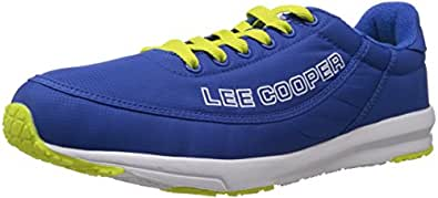 Lee Cooper Men's Blue Mesh Running Shoes - 7 UK
