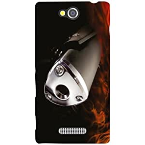 Sony Xperia C Back Cover - Abstract Designer Cases