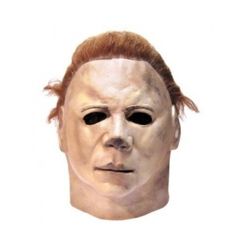 Michael Meyers Halloween Horror Costumes Full-Head Mask-One Size Fits All Men, Teens. Be the Scariest Costume at the Party. Add Blood Tears and Overalls