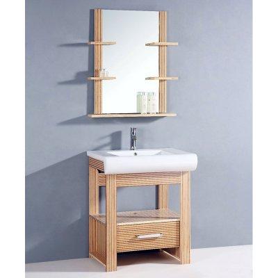 Legion Furniture Palm 29 in. Single Bathroom Vanity Set Size - 20.5L x 28.5W x 33.5H in.