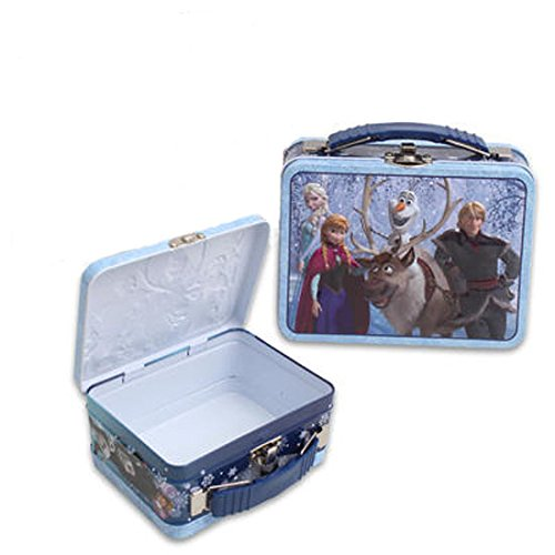 Disney Frozen Elsa, Anna & Olaf Small Tin Box - 1