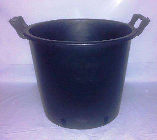 Runder Topf Pflanzenkübel 30 Liter mit Griff