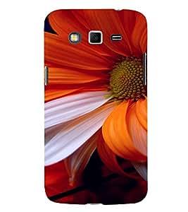 PrintVisa Flower Design 3D Hard Polycarbonate Designer Back Case Cover for Samsung Galaxy Grand 2