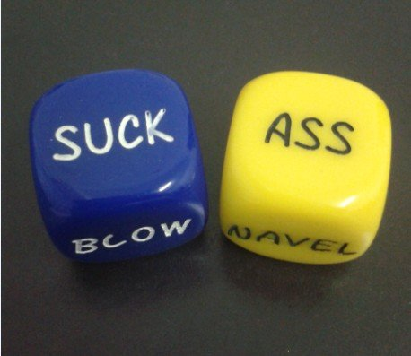 Couple Dice Game Toy- Bachelor Party- Fun Sweethearts Gift