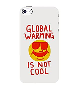 99Sublimation Global Warming 3D Hard Polycarbonate Back Case Cover for Apple iPhone 4 :: Apple iPhone 4S