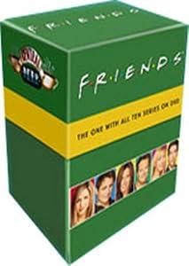 Friends : L'integrale saison 1 a 10 - Coffret 35 DVD [Import belge]