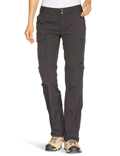 Columbia-Damen-Zip-Off-Hose-Silver-Ridge-Convertible-Pants-Black-Gr-8