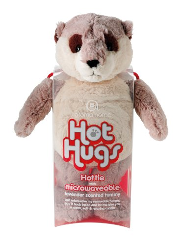 Aroma Home Meerkat  Hot Hug with Microwavable lavender scented insert