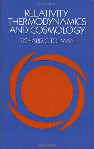 Relativity, Thermodynamics And Cosmology (Dover Books On Physics) front-927977