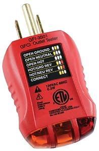Gardner Bender GFI-3501 GFCI Outlet Tester
