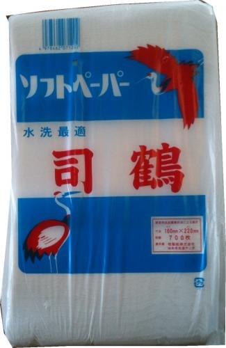司鶴 落とし紙 700枚×18袋 1袋あたり206円 01307