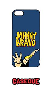 Caseque Johnny Bravo Back Shell Case Cover for Apple iPhone 5/5S