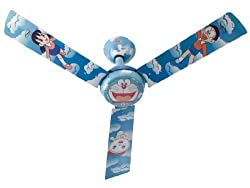 Usha Doraemon Copter 1200mm Kids Ceiling Fan without Regulator (Multi-color)