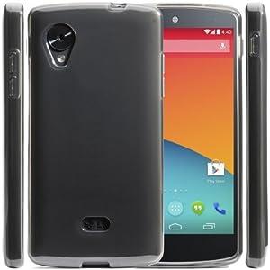 i-Blason SoftGel Flexible TPU Case for Google Nexus 4 Smart Phone by LG E960 8GB 16GB (Frost Clear)