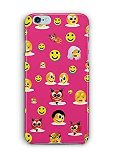 YuBingo Smileys in Various Avatars Mobile Case Back Cover for Apple iPhone 6 Plus