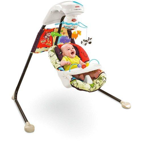 Fisher-Price - Luv U Zoo Cradle Swing