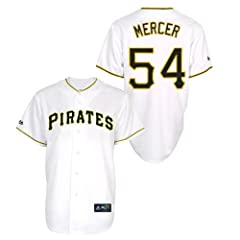 Jordy Mercer Pittsburgh Pirates Home Ladies Replica Jersey by Majestic by Majestic