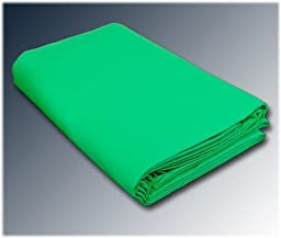 CowboyStudio 100% Cotton 10 X 24 Feet Seamless Chroma Key Green Muslin Backdrop