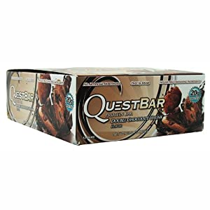 Quest Nutrition Protein Bars, Double Chocolate Chunk, 2.12oz Bars (12 Count)