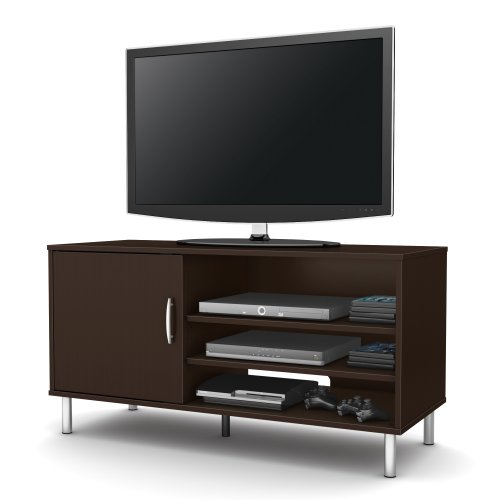 South Shore Renta Tv Stand, Chocolate front-873843