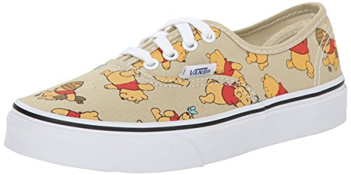 Vans U Classic Slip-On Disney Sneakers, Bambini, Multicolore (Disney/Winnie The Pooh/Light Khaki), 31