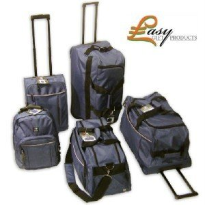 O.w.n 5 Piece Suitcase Set