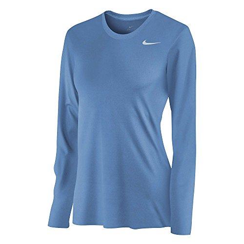 Nike Womens Long Sleeve Legend Shirt SKY BLUE (Blue Nike Shirt compare prices)