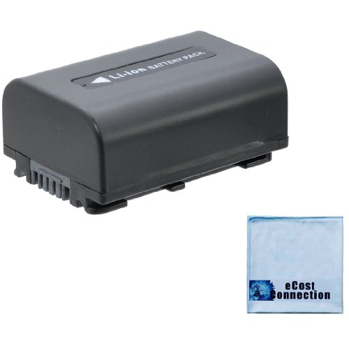 Np-Fv50 1900Mah Infolithium V Series Battery + Microfiber Cloth For Sony Nex-Vg900 Vg900 Hdr-Cx110 Hdrcx110 Cx110 Hdr-Cx130 Hdrcx130 Cx130 Hdr-Cx150 Hdrcx150 Cx150 Hdr-Cx150E Hdrcx150E Cx150E Hdr-Cx160 Hdrcx160 Cx160 Hdr-Cx170 Hdrcx170 Cx170 Hdr-Cx190 Hdr