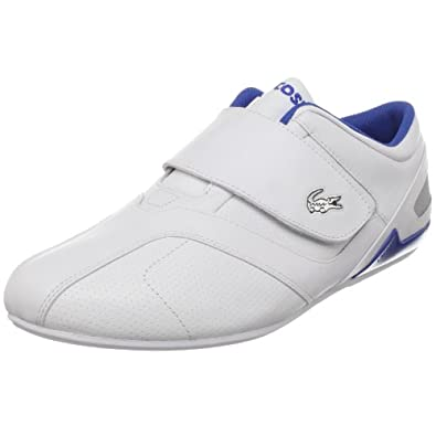 Pq Velcro Sneaker, White/Blue, 12 M US: Fashion Sneakers: Shoes