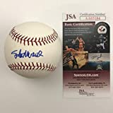 Autographed/Signed Stan Musial Rawlings Official Major League Baseball ROML JSA COA Auto