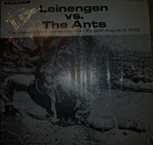 leiningen versus the ants Leiningen versus the ants 2 pages 428 words the setting is the wilds of brazil (guide 45) the main character is leiningen, who is a plantation owner (guide 45) the primary conflict, difficulty, problem is between leiningen and the ants.