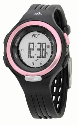 Adidas Pink and Black Round Ladies Sports Watch  - ADP3028